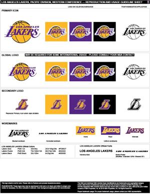 Los Angeles Lakers Colors Sports Teams Colors U S Team Colors