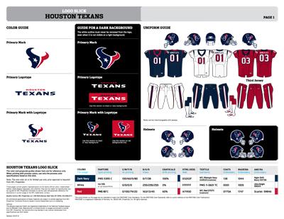 Houston Texans Colors Sports Teams Colors U S Team Colors
