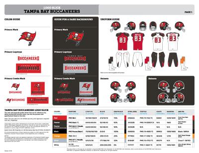 Tampa Bay Buccaneers Colors Sports Teams Colors U S Team Colors